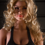 Sex Dolls 140cm D-cup Blonde hair