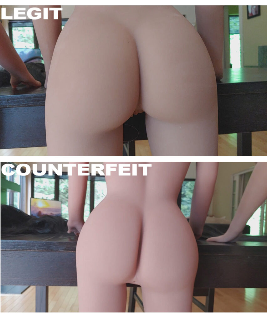 cheap sexdoll vs expensive sexdoll ass