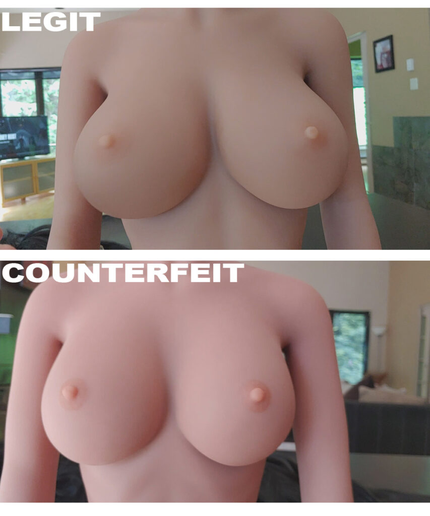 cheap sexdoll vs expensive sexdoll breasts