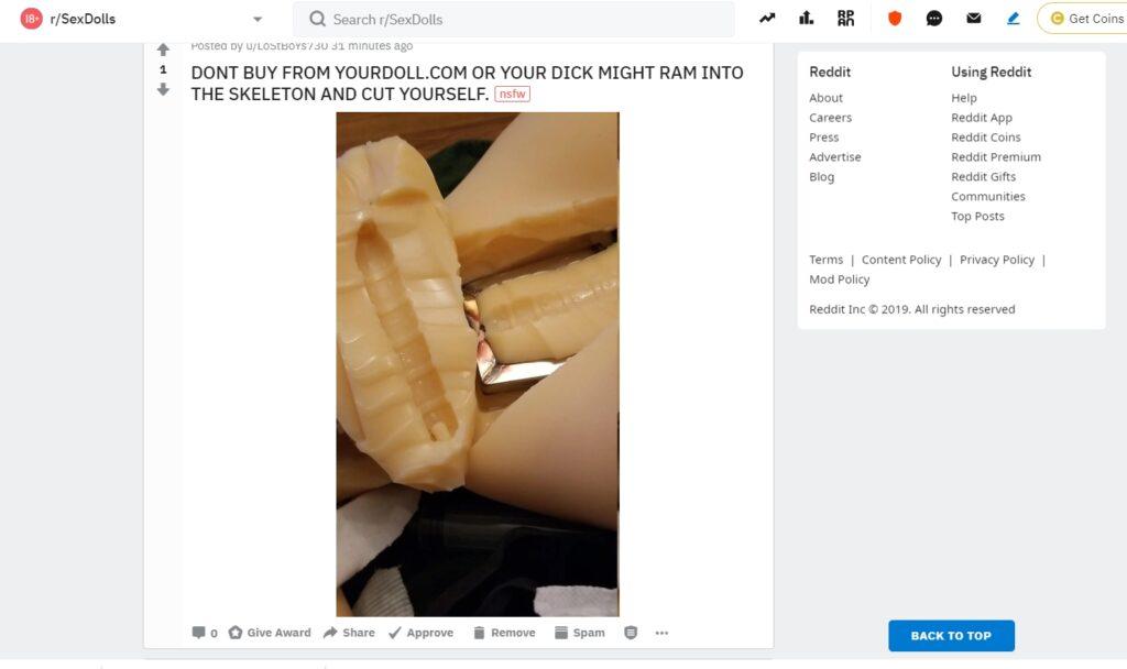 yourdoll.com - scam