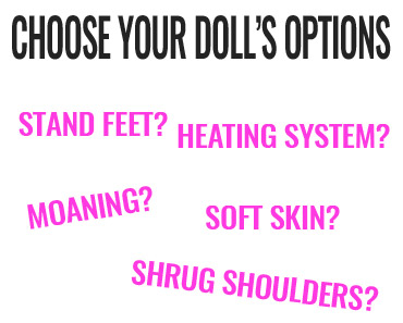 sex dolls options